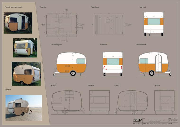 micro architecture ph m re avec pour base une caravane