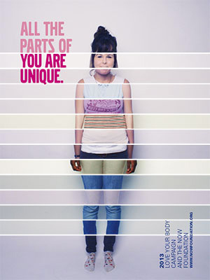 Love your body campaign 2013