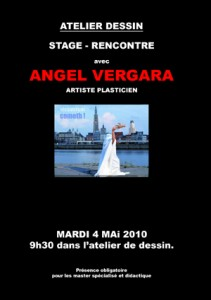 affiche stage rencontre angel vergara web