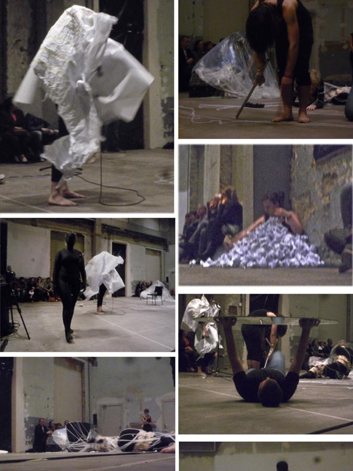 Performance Maison Folie  UN PAS DE TROP 2013
