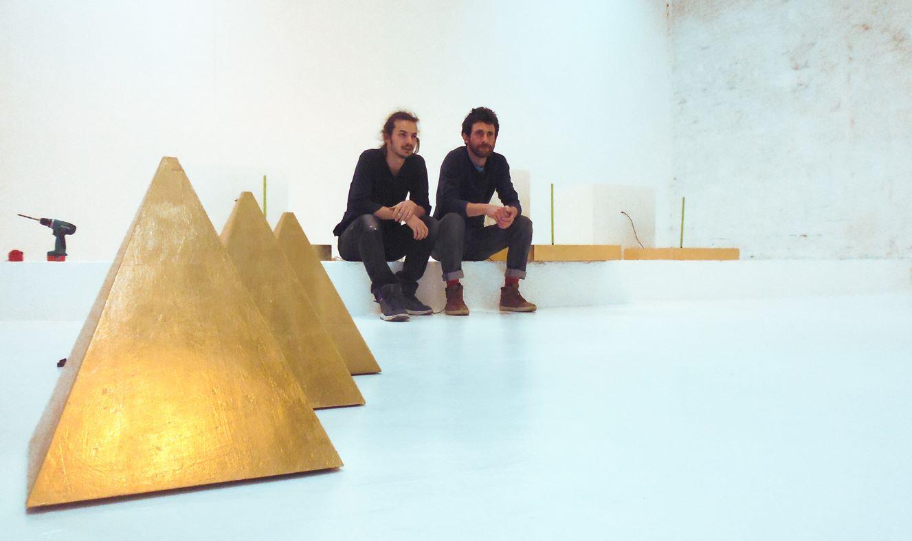 Samuel Coisne, montage de l'expo